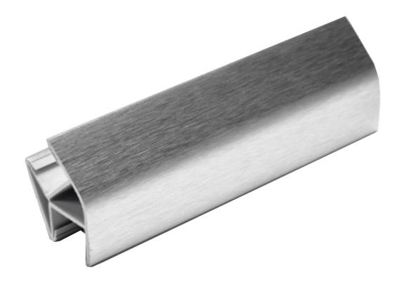 Aluminium Clading Skirting Corner