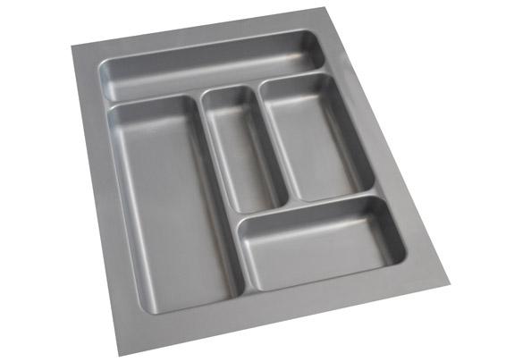 ABS Cutlery Tray 450mm High Gloss Grey