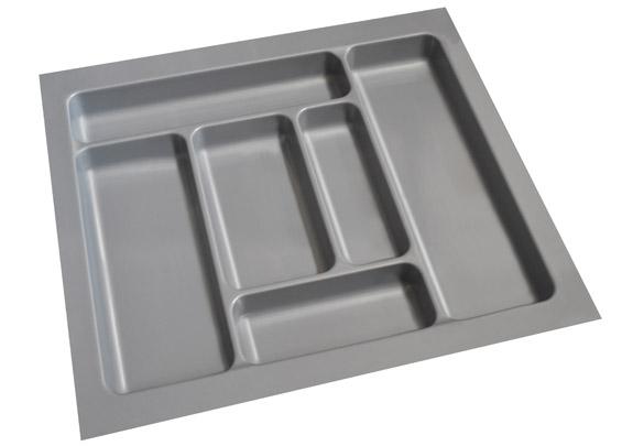 ABS Cutlery Tray 600mm High Gloss Grey