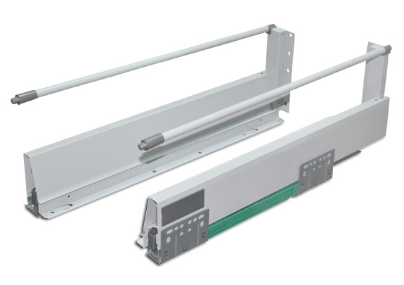 Drawer System Soft Close 6 inch