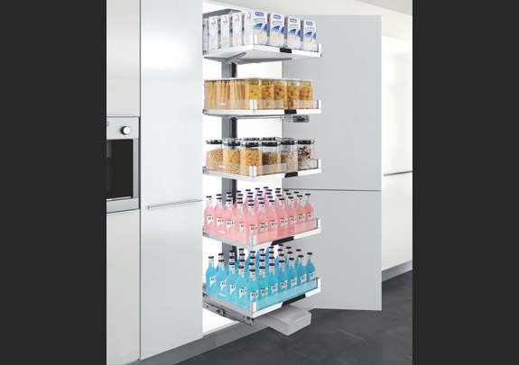 Galería Glass Space Pantry Unit