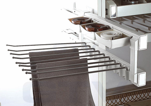 Multi Use Trouser Side Rack Pull Out