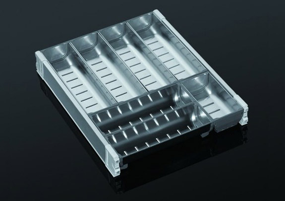 SS Bowl Cutlery Box