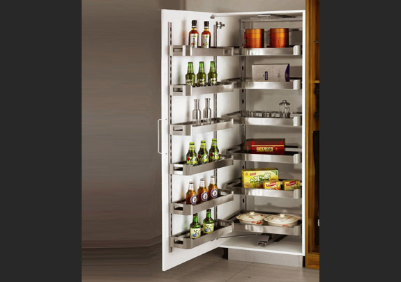 SS Pantry Pull Out Unit